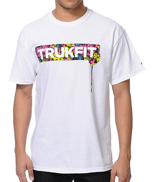 Trukfit Drip White T-Shirt