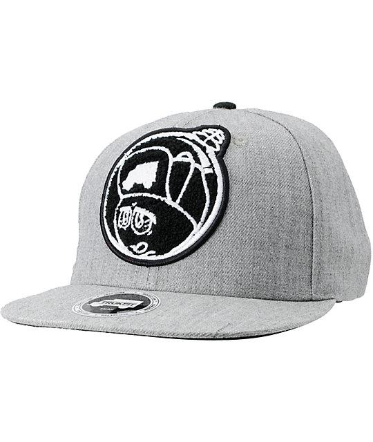 Trukfit Feelin Spacey Chenille Heather Grey Snapback Hat