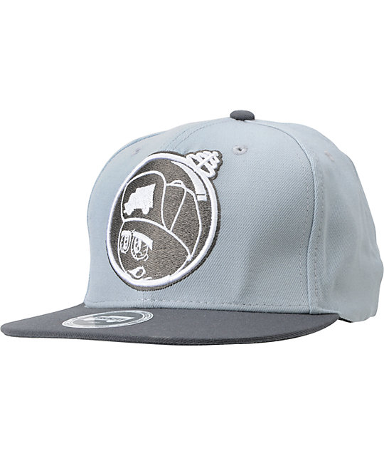 Trukfit Feelin Spacey Grey Snapback Hat