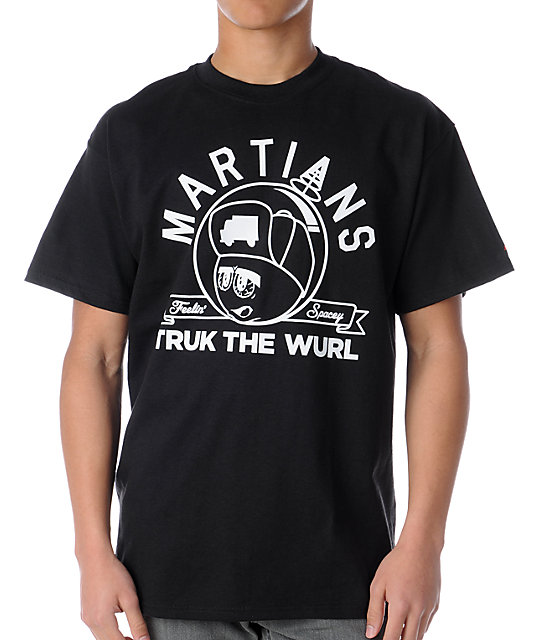 Trukfit Feelin Spacey Martians Black T-Shirt
