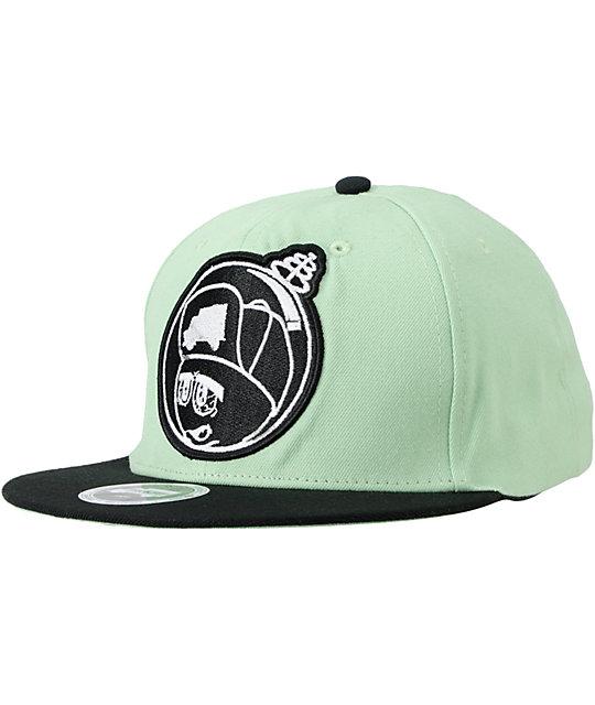 Trukfit Feelin Spacey Mint Snapback Hat