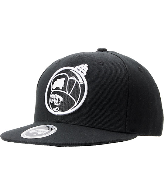 Trukfit Feelin Spacy Black Snapback Hat
