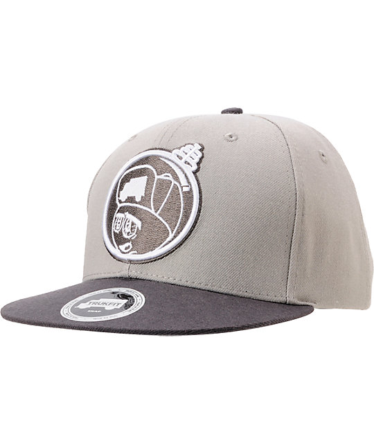 Trukfit Feelin Spacy Grey Snapback Hat
