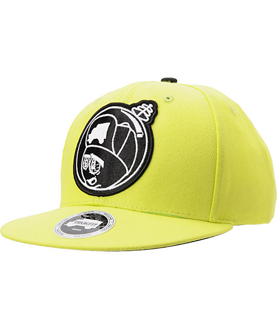 Trukfit Feelin Spacy Yellow Snapback Hat