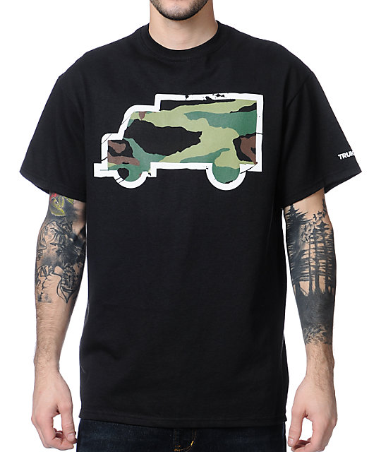 Trukfit Fill Up Camo Black T-Shirt