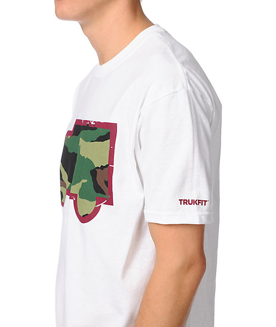 Trukfit Fill Up Camo White T-Shirt