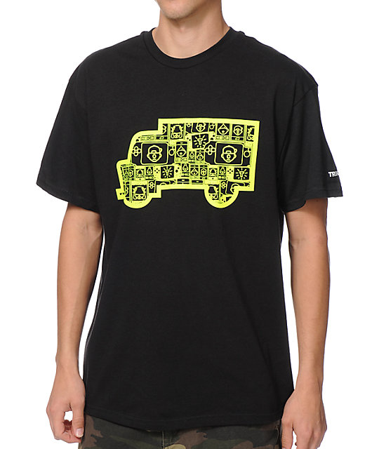 Trukfit Filled Truck Black T-Shirt