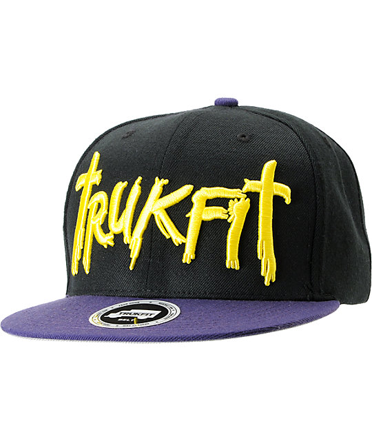 Trukfit Galaxy Purple Strapback Hat