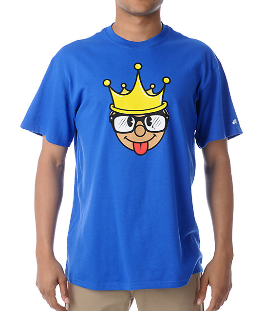 Trukfit King Royal Blue T-Shirt