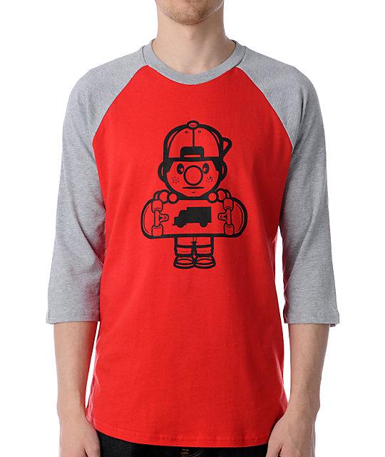 Trukfit Lil Tommy Baseball T-Shirt