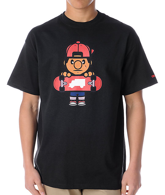 Trukfit Lil Tommy Black T-Shirt