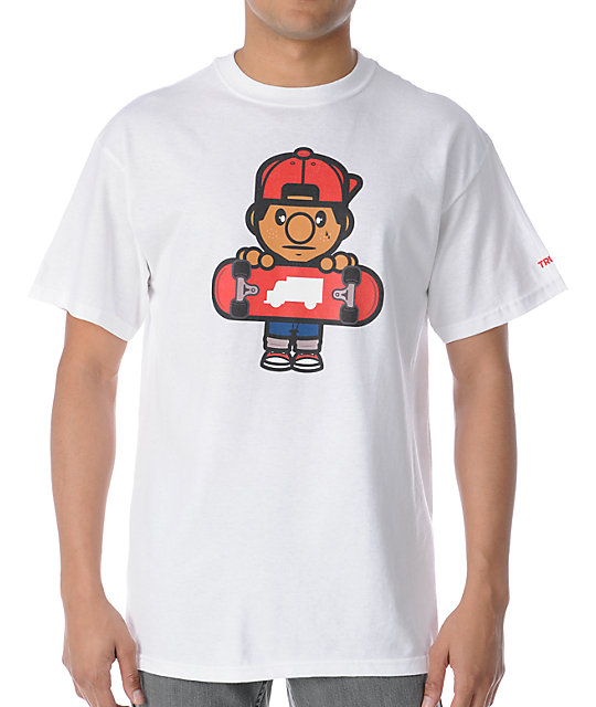 Trukfit Lil Tommy White T-Shirt