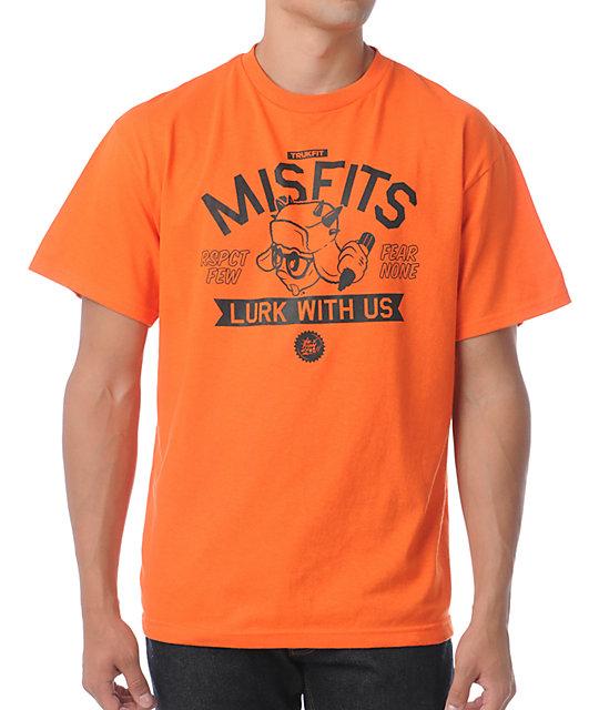 Trukfit Lurk With Us Orange T-Shirt