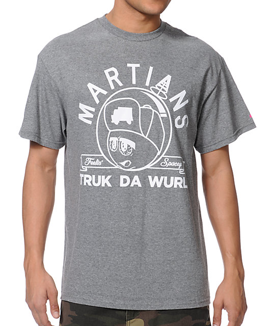 Trukfit Martian Grey T-Shirt