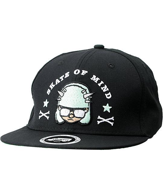 Trukfit Misfits Black & Mint Snapback Hat