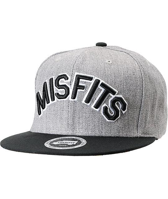 Trukfit Misfits Grey Snapback Hat