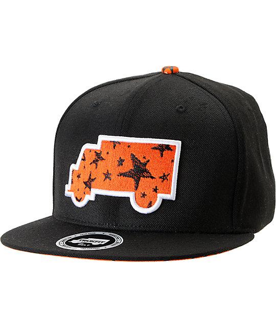 Trukfit Modern Classic Black Strapback Hat