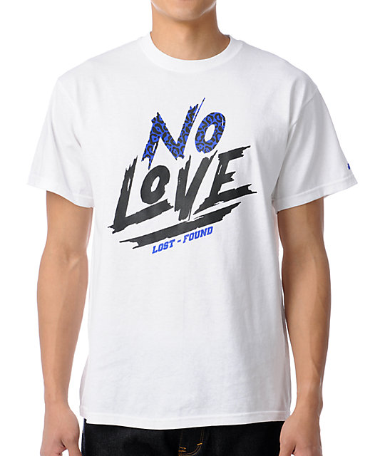 Trukfit No Love White T-Shirt