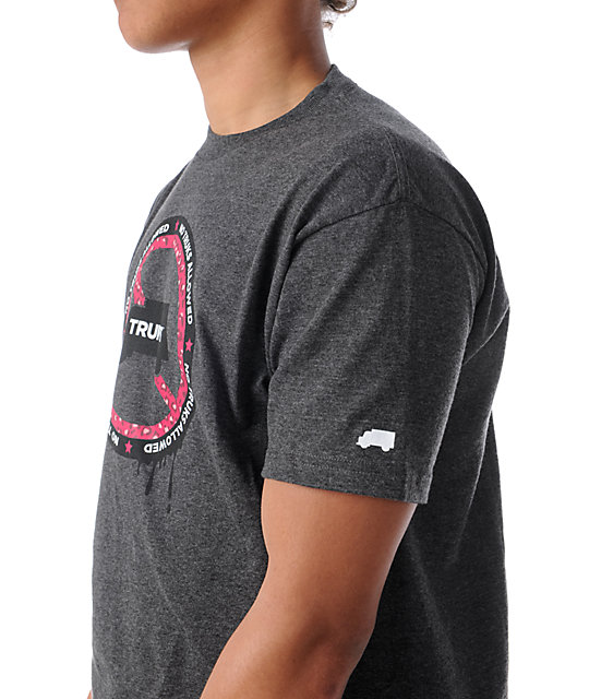Trukfit No Truks Grey T-Shirt