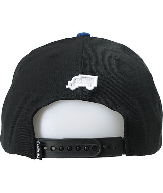 Trukfit Original Black Snapback Hat
