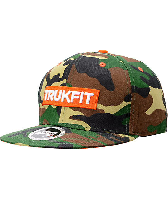 Trukfit Original Camo Snapback Hat
