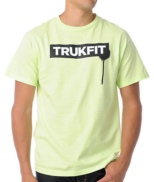 Trukfit Original Drip Slime Green T-Shirt