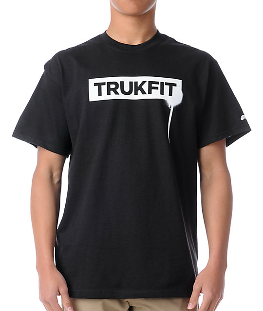 Trukfit Original Logo Black T-Shirt