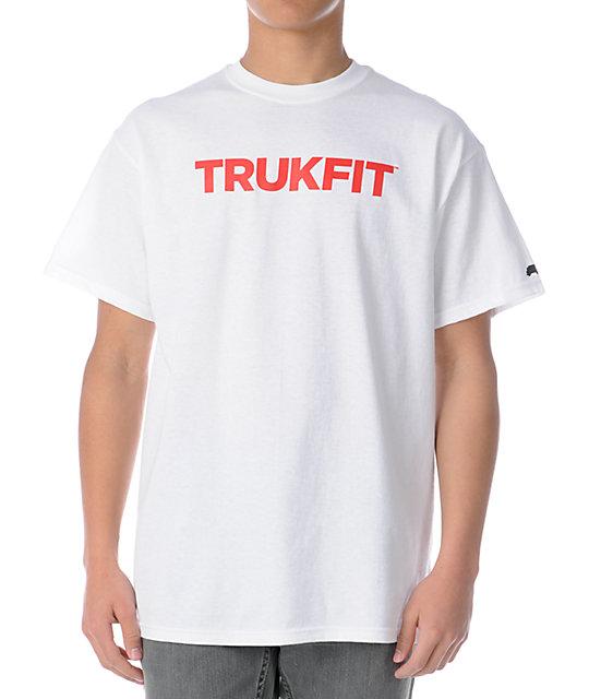 Trukfit Original Logo White T-Shirt