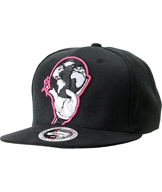 Trukfit Palm This Black Strapback Hat