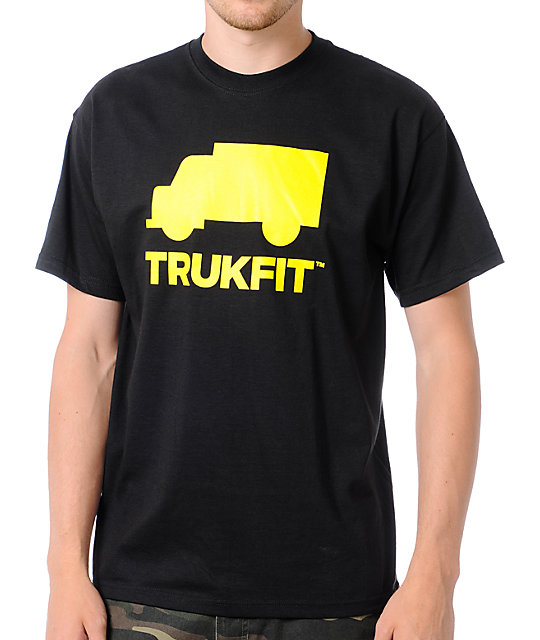 Trukfit Space Icon Black T-Shirt