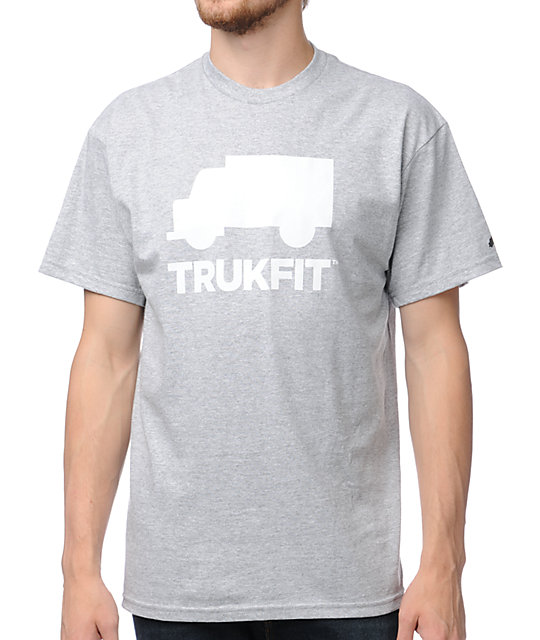Trukfit Space Icon Grey T-Shirt