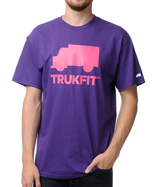 Trukfit Space Icon Purple T-Shirt