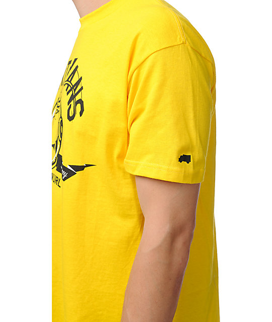Trukfit Spacey 2 Yellow T-Shirt