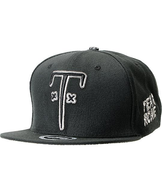 Trukfit TF Black Snapback Hat