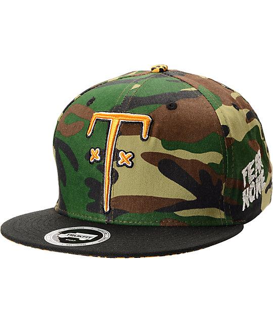 Trukfit TF Camo Snapback Hat