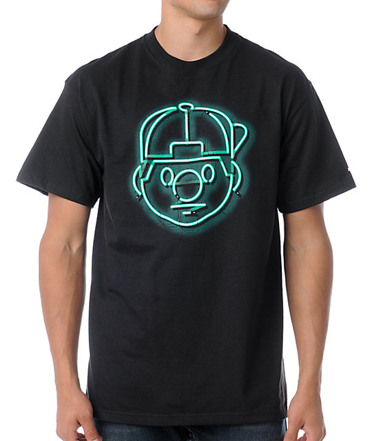 Trukfit Tommy Neon Black T-Shirt
