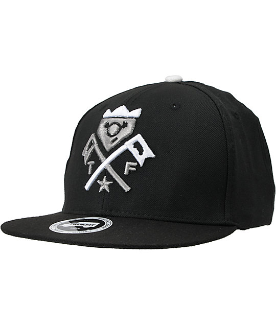 Trukfit Truck It Black Snapback Hat