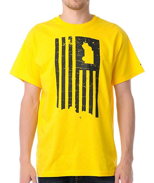 Trukfit Truk America Yellow T-Shirt