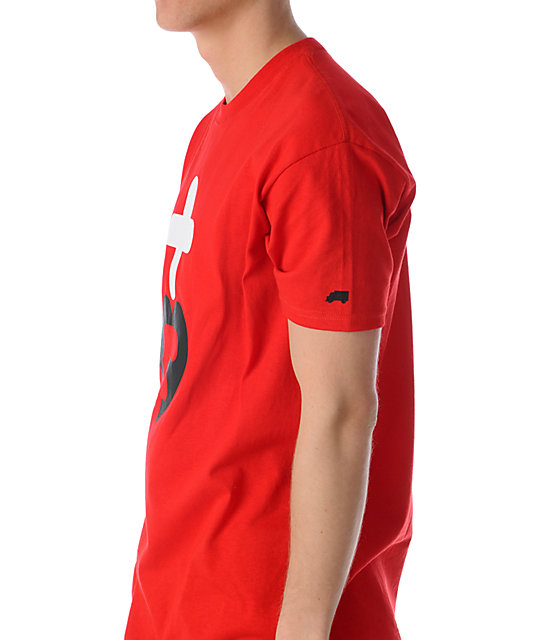 Trukfit Truk Love 2 Red T-Shirt
