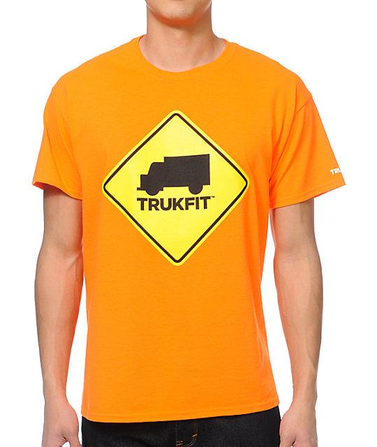 Trukfit Truk Stop Orange T-Shirt