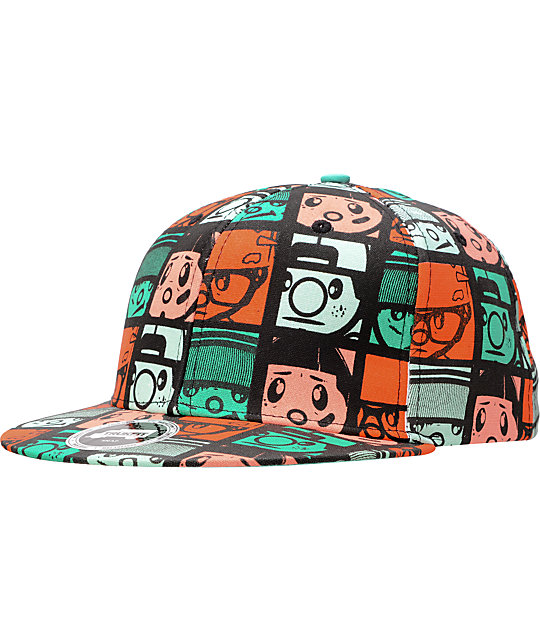 Trukfit Trukwood Squares Snapback Hat