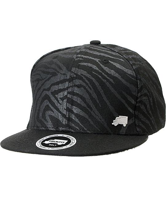 Trukfit Wildstyle Black Strapback Hat