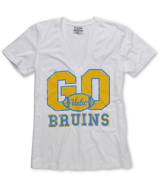 UCLA Bruins V-Neck College Football T-Shirt