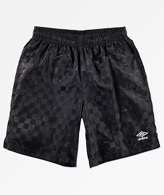Umbro Checkerboard Black Shorts by Umbro