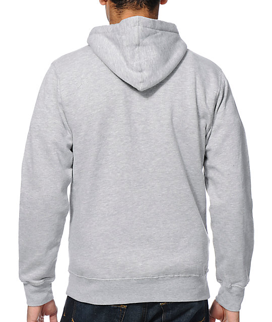 Undefeated Ascender 5 Strike Grey Pullover Hoodie