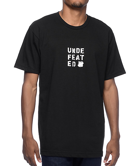 Undefeated Base Temp Black T-Shirt