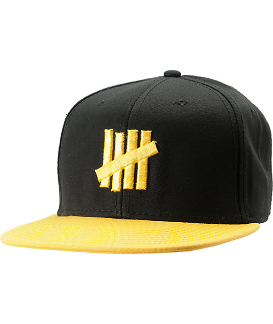 Undefeated Five Strike Snapback Hat