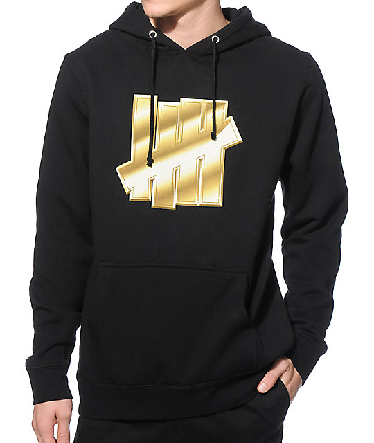 Undefeated Gold Strike Hoodie