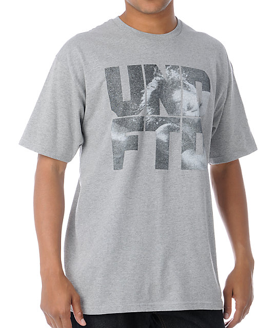 Undefeated Punch Heather Grey T-Shirt