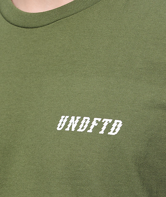 Undefeated Ugly Early Olive T-Shirt